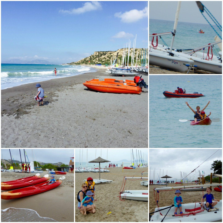 Family holiday at Mark Warner Lakitira Beach Resort - watersports