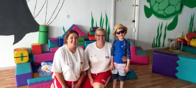 Childcare at Mark Warner's Lakitira Beach Resort, Greece
