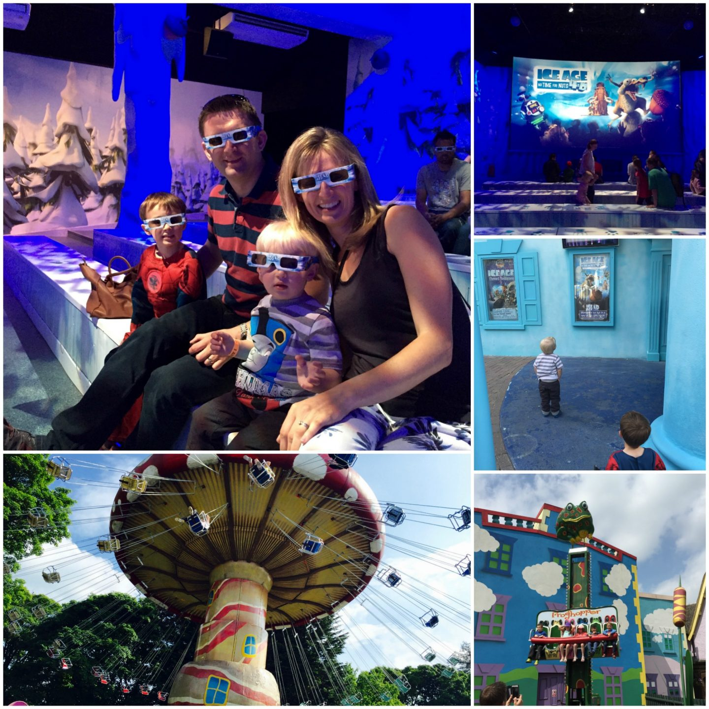 Review Alton Towers theme park and water park - 4D show