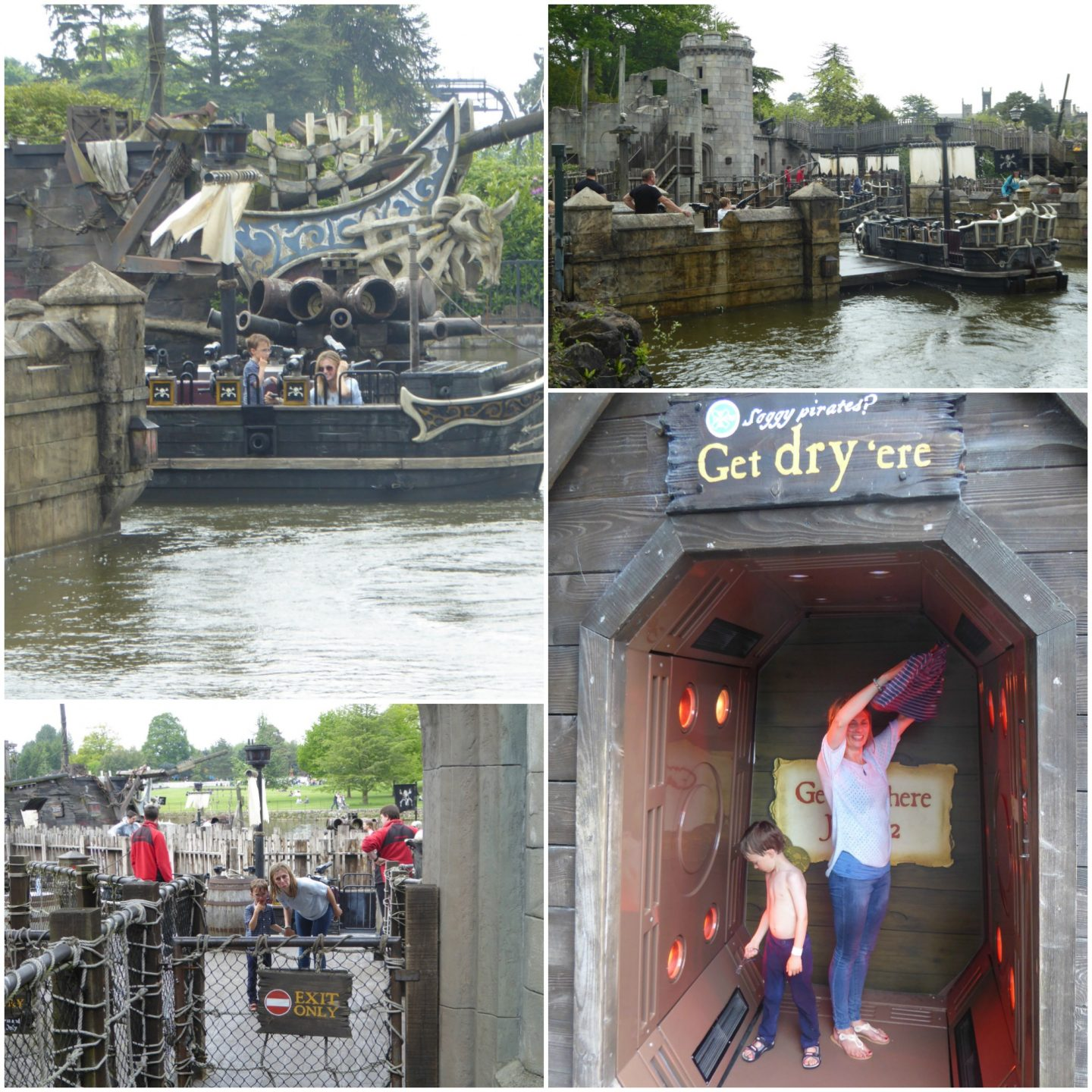 Review Alton Towers theme park and water park - Galleon ride
