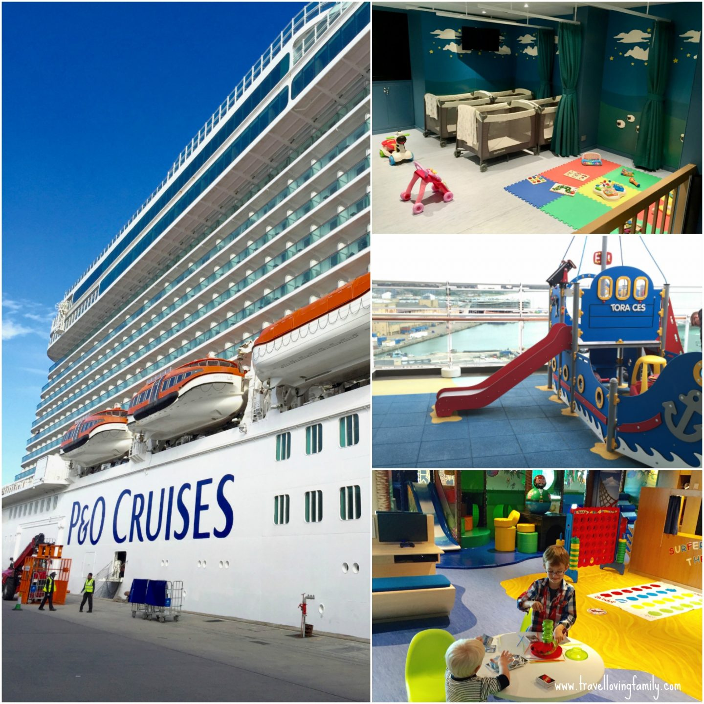 Tips for cruising with kids - onboard P&O Cruises Britannia