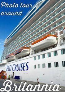 Photo tour around P&O Cruises Britannia