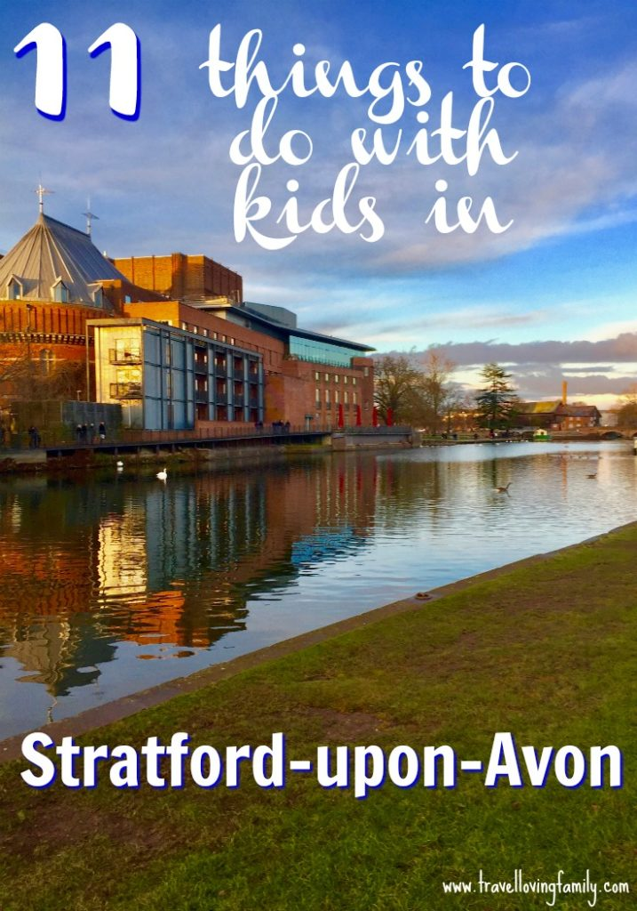 11 things to do with kids in Stratford-upon-Avon