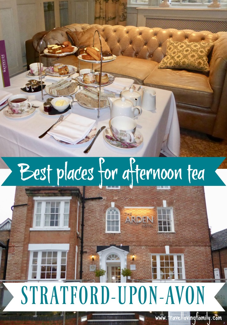 Best places for afternoon tea in Stratford-upon-Avon including onboard a river cruiser floating down the River Avon!