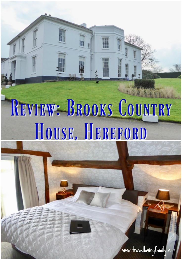 Review of Brooks Country House in Hereford. A stunning recently renovated Georgian manor home with 22 bedrooms, set in the Hereford and Wye Valley countryside