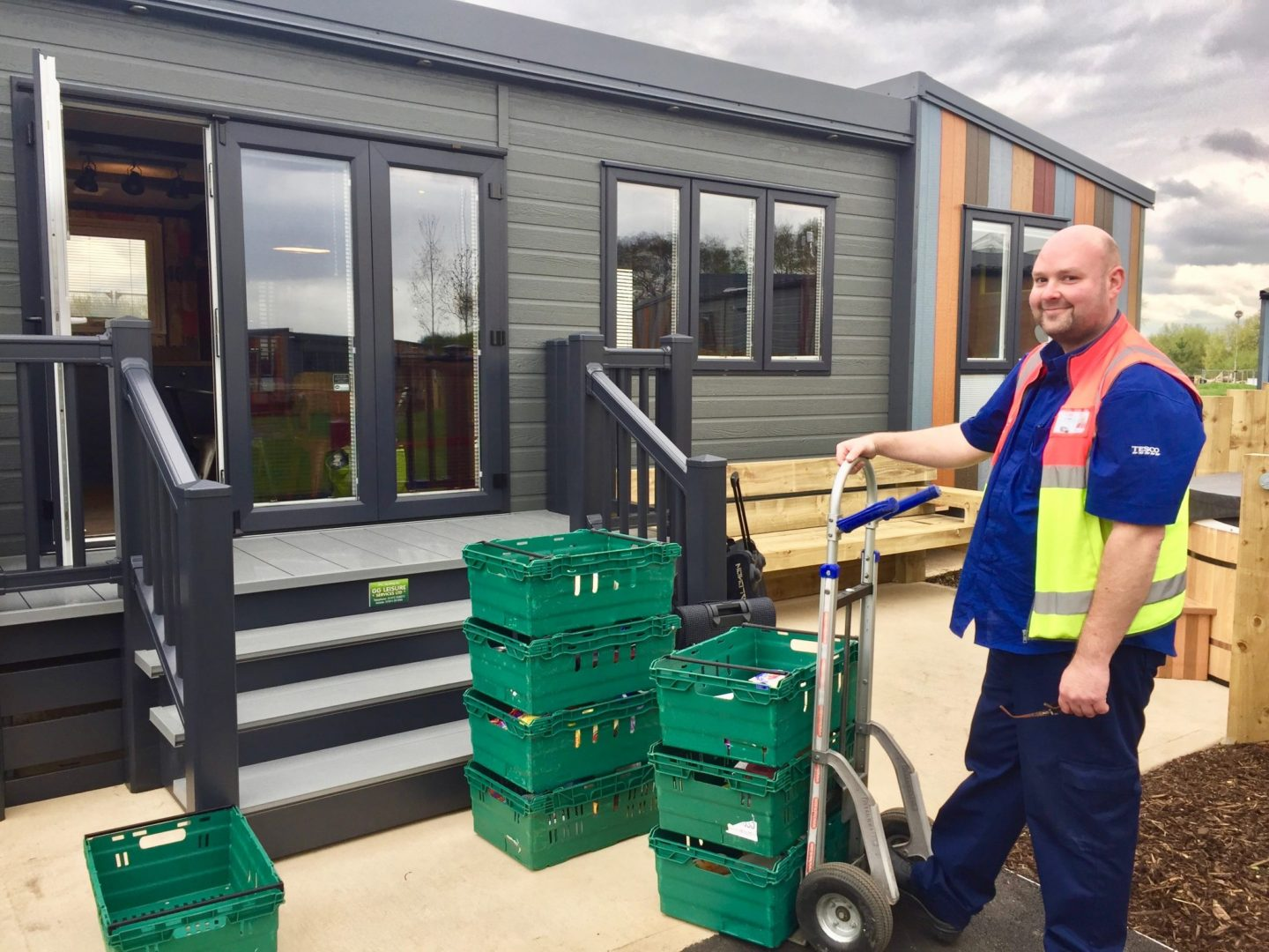 Tesco food delivery Tattershall Lakes