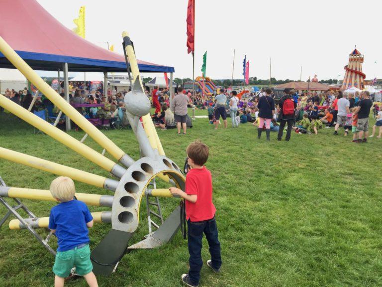 why you should take kids to Wychwood Festival