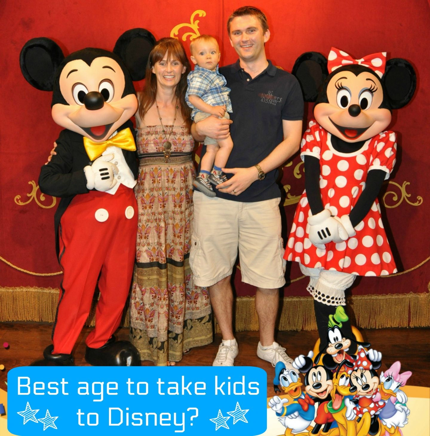 Tips for planning a family holiday to Orlando - best age to take kids to Disney?